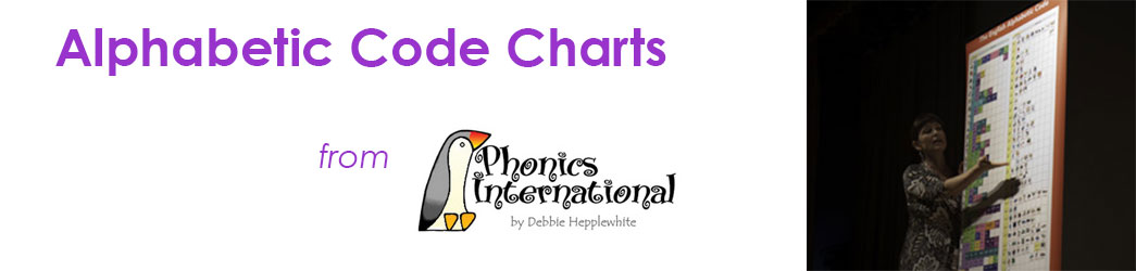 Alphabetic Code Charts Header